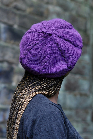 Cabled Cap - knitting pattern