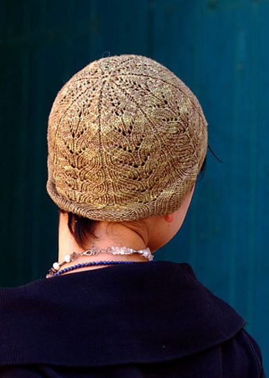 Forestry beanie - knitting pattern