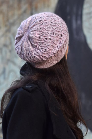 Rosalind slouchy hat - knitting pattern
