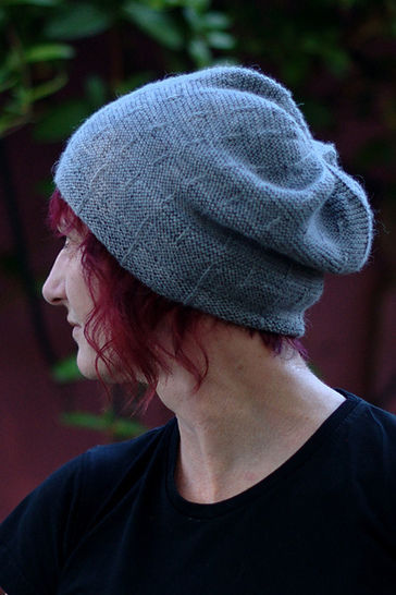 Runway beanie - knitting pattern