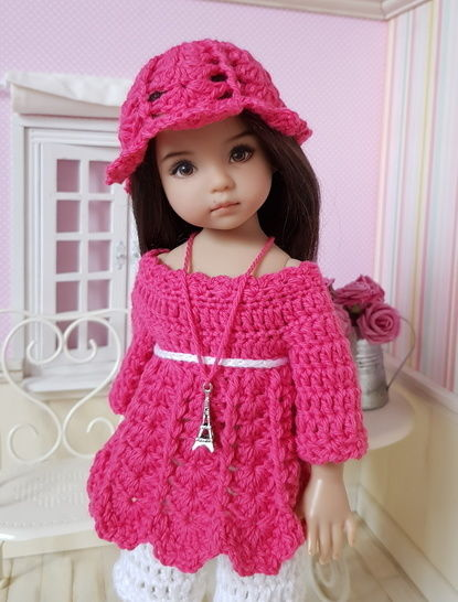 """Rosarianne"" patron crochet pour Little Darling"