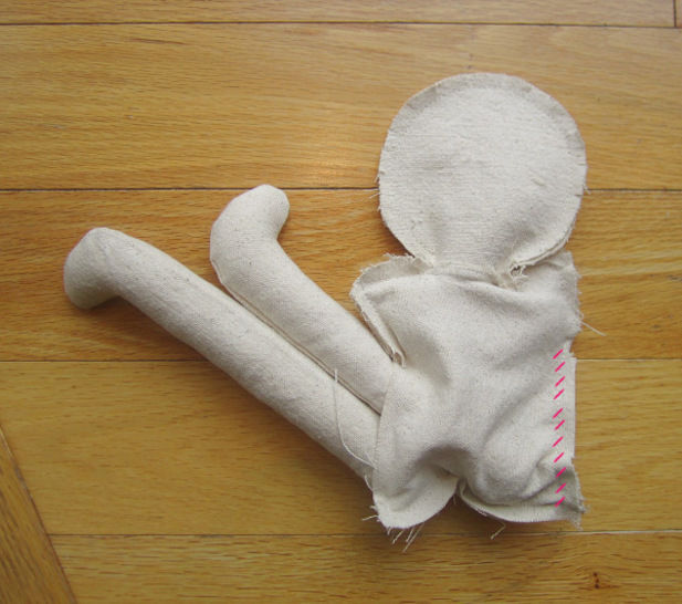 Classic Rag Doll Sewing Pattern and Instructions