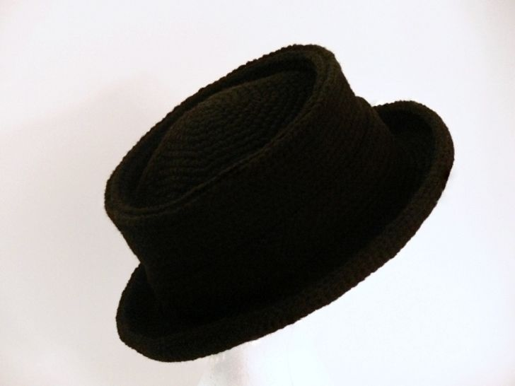 Pork Pie Hat Crochet - Baby, Toddler, Girls, Boys, Teens, Women, Men, Men's L, XL, XXL