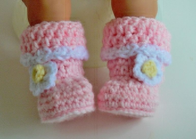 Baby Booties, Baby Slippers Crochet Pattern # 175