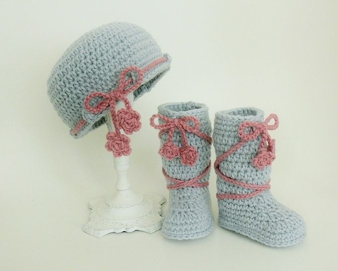 Baby Hat and High Boots