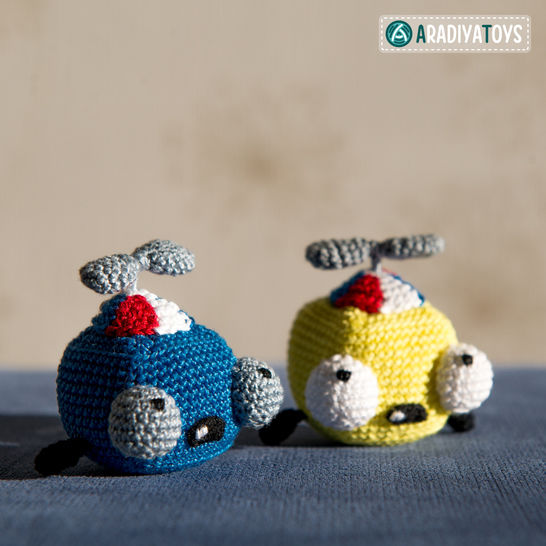Crochet Pattern of Fish Edward by AradiyaToys