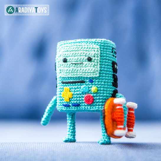 Modèle au crochet de BMO de «Adventure Time»