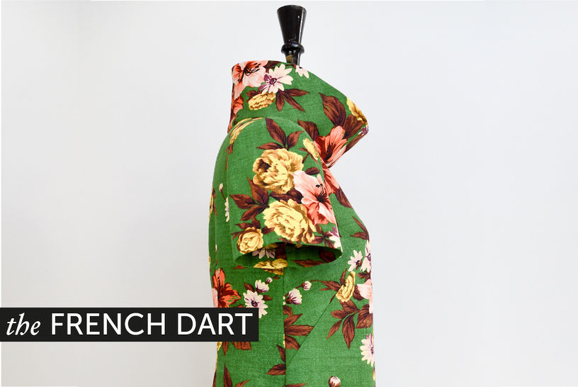 The French Dart Shift - PDF sewing pattern