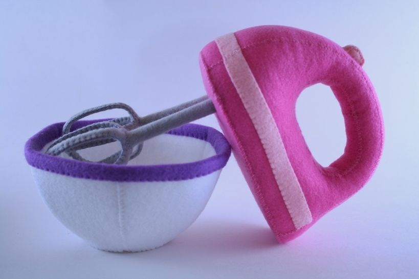 Toy Hand Mixer Sewing Pattern
