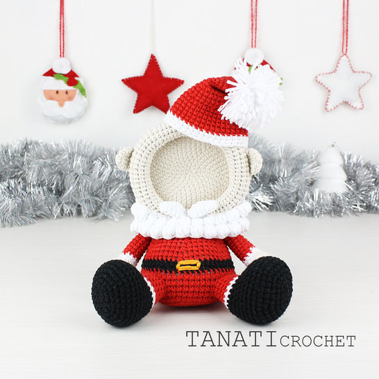 "TUTORIEL CROCHET ""Mini Cadres Photo Collection Noël"""
