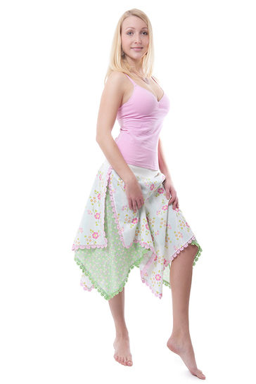 Skirt with Taillenband CAPRICE Pattern Size XS - XXL