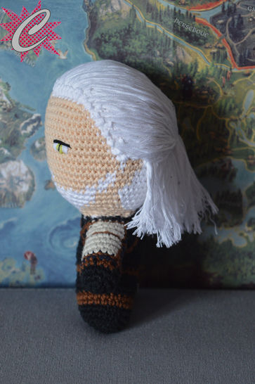 Cheveux/Perruques pour Amigurumi by Celenaa