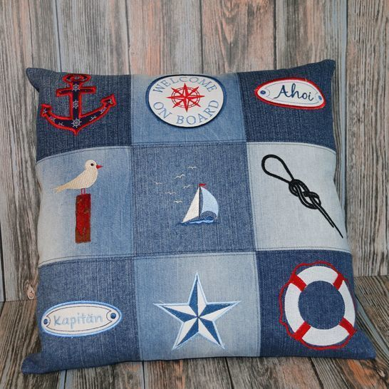 Stickdateien Maritimes Set 63 Dateien Applis ab10x10 Anker