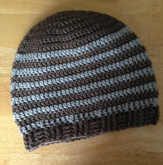 Anywhere, anytime - tuque à crocheter