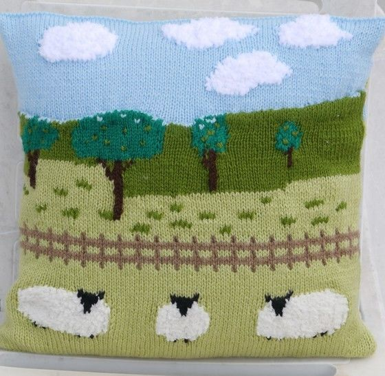 Sheep in the Countryside Cushion