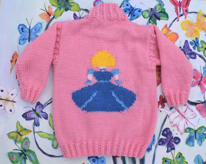 Princess Sweater and Crown - Cinderella