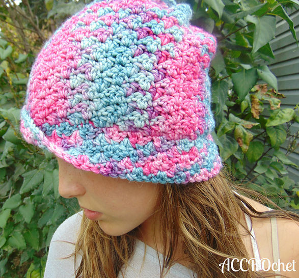 Unicorn - tuque transformable à crocheter