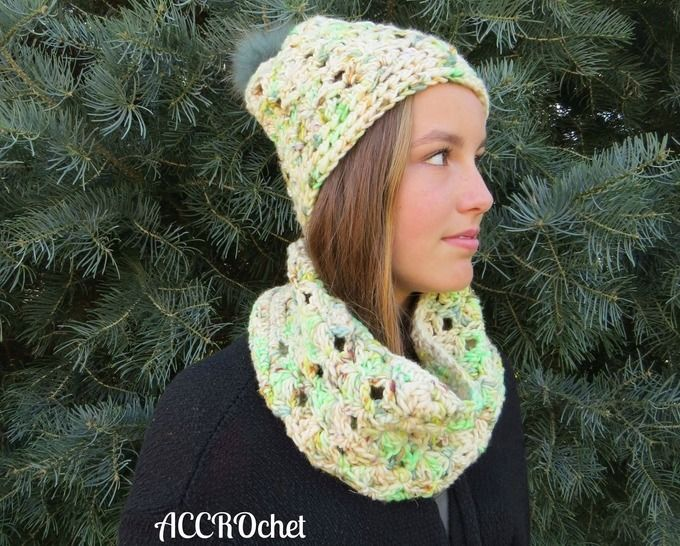 Lucky Charms - ensemble tuque + col
