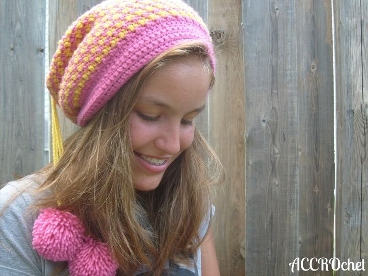 Quatre - tuque transformable 4-en-1 à crocheter