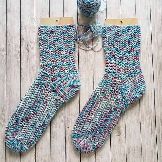 Unicorn Dream - chaussettes à crocheter