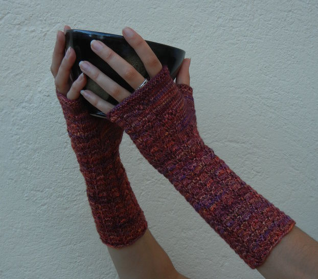 Volubilis Mittens - Knitting