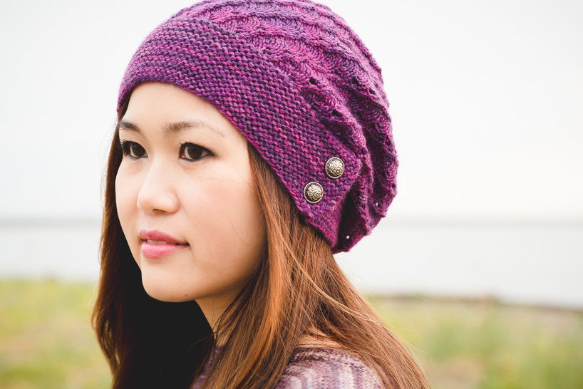 Procella hat and fingerless mitts - hand knitting pattern