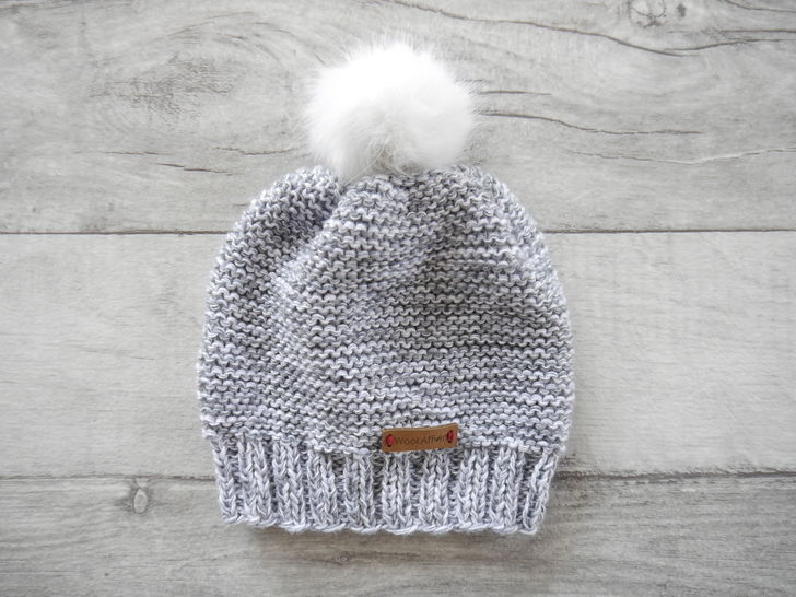 Knitting Pattern – Baby Cap basic – No.168E-4