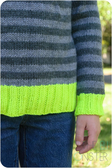 The Helder Sweater - Knitting Pattern for children 2y to 12y