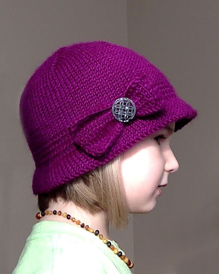 Bootlegger's Bonnet - Knitting Pattern for Baby-Adult