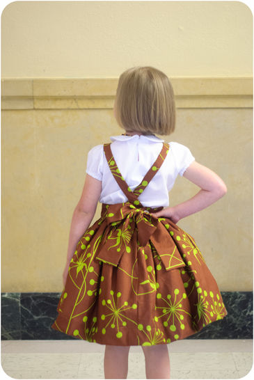 The Kinderschürze Pinafore Sewing Pattern 12m-12y