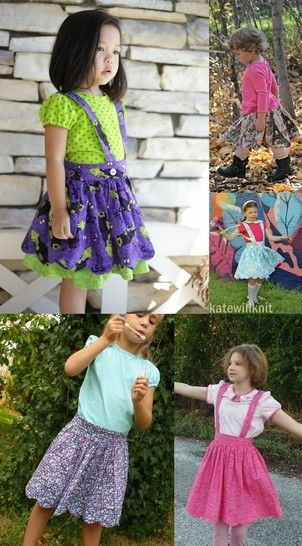 The Süsse Skirt Sewing Pattern - Sizes 12m-12y