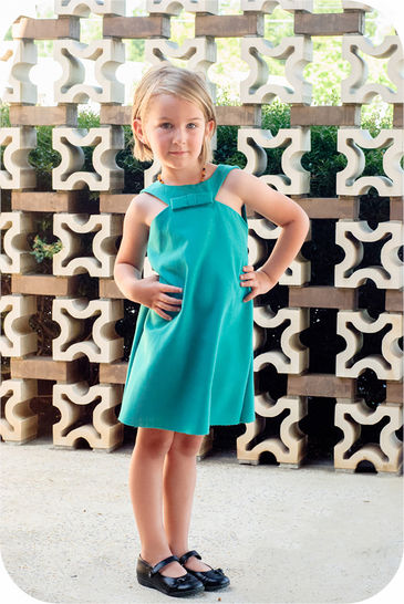 The Driehoek Dress - Sewing Pattern for sizes 12m-12y