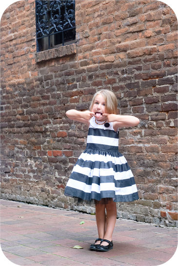 The Feestje Dress - Sewing Pattern for Sizes 6m-12y