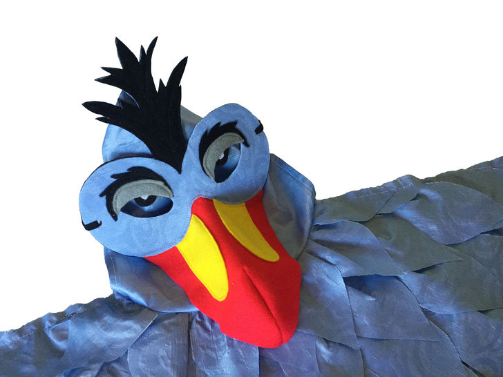 Bird Capes and Masks Pattern for ages 3 - 9.