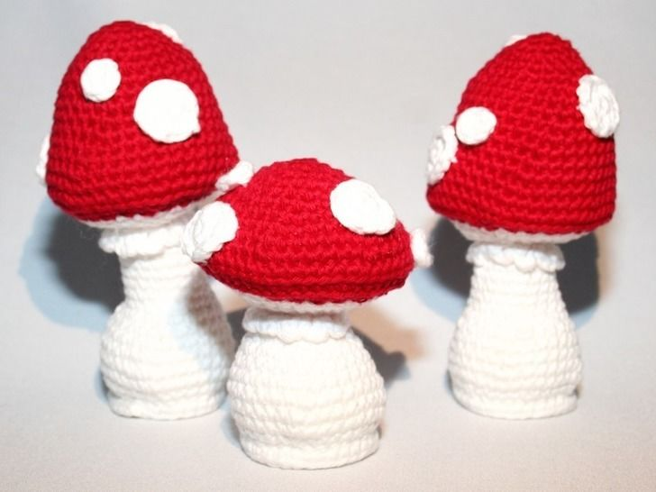 Mushrooms - Crochet Pattern