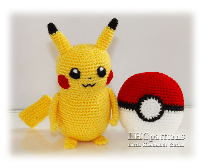 15 Creative Crochet Pokemon Patterns Free ⋆ DIY Crafts | 546x675