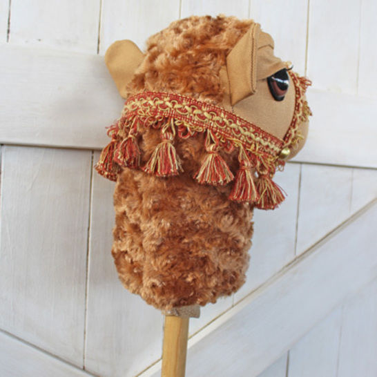 Camel Ride-on Toy Stick Horse Hobby Horse in Two Sizes