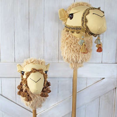 Camel Ride-On Toy Pattern by Rustic Horseshoe
