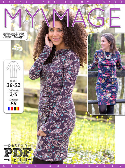 ROBE HALEY Patron de Couture + Tutoriel