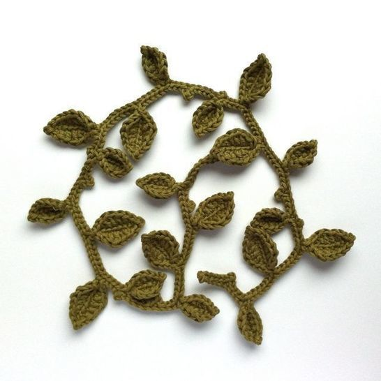 Leaf Garland - Crochet Pattern