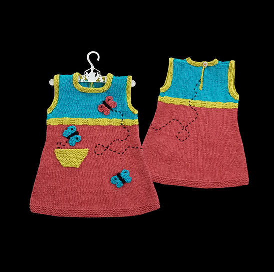 Butterfly Tunic Dress  (1-5 years)