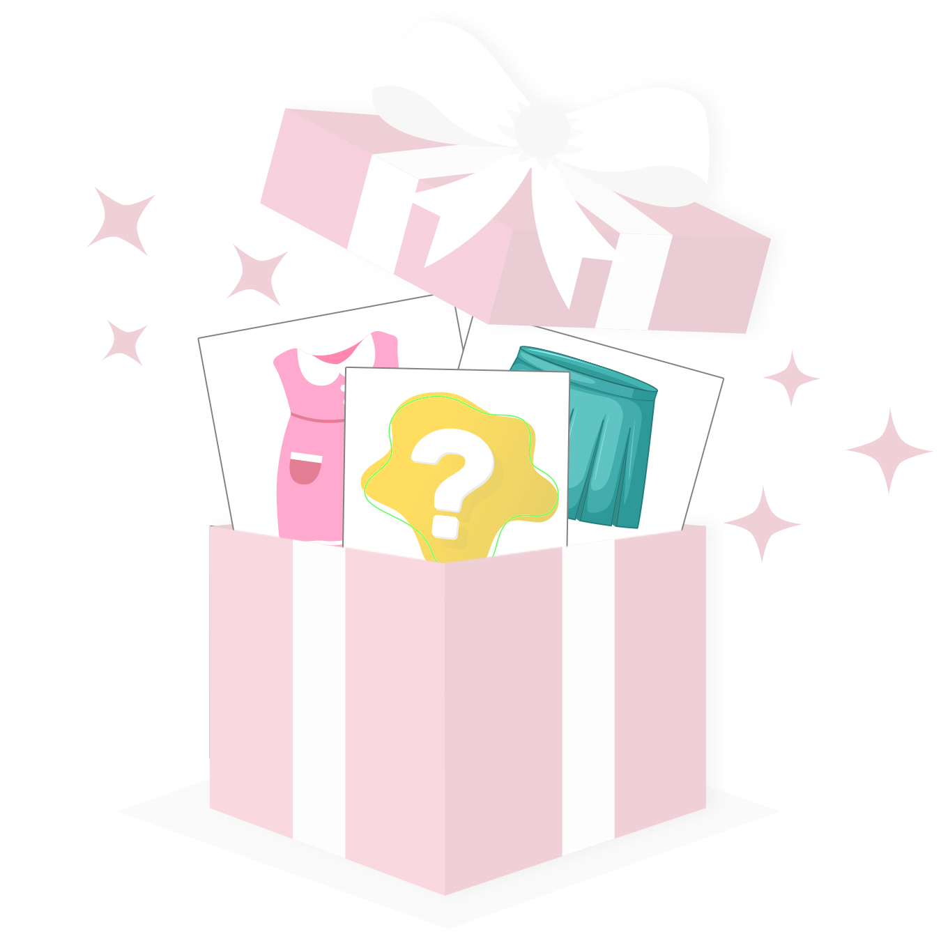 Mädchen Mystery Paket