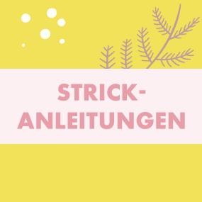"""Strickanleitungen""""/"""