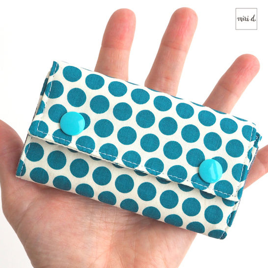 MiniMoneyBag - Pattern for a little wallet