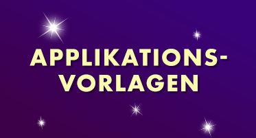 Applikationsvorlagen 2 €