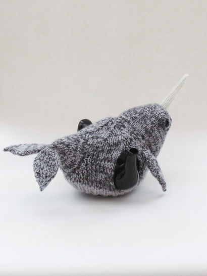 Narwhal Tea Cosy Knitting Pattern