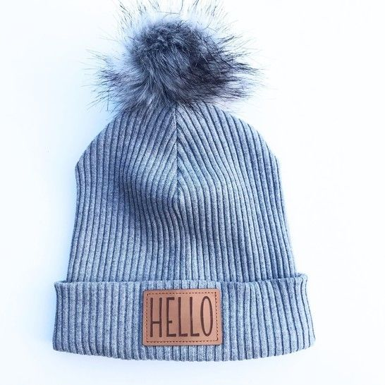 Grobstrickbündchen Hipster Beanie nice to sew you