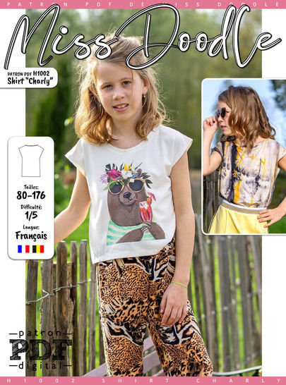 Shirt CHARLY Patron de Couture + Tutoriel