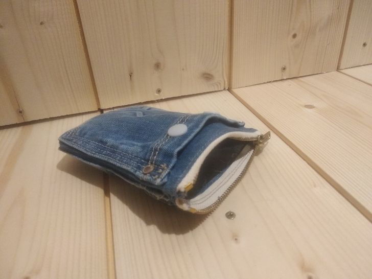 Pock-up La trousse Upcycling en poches de jeans