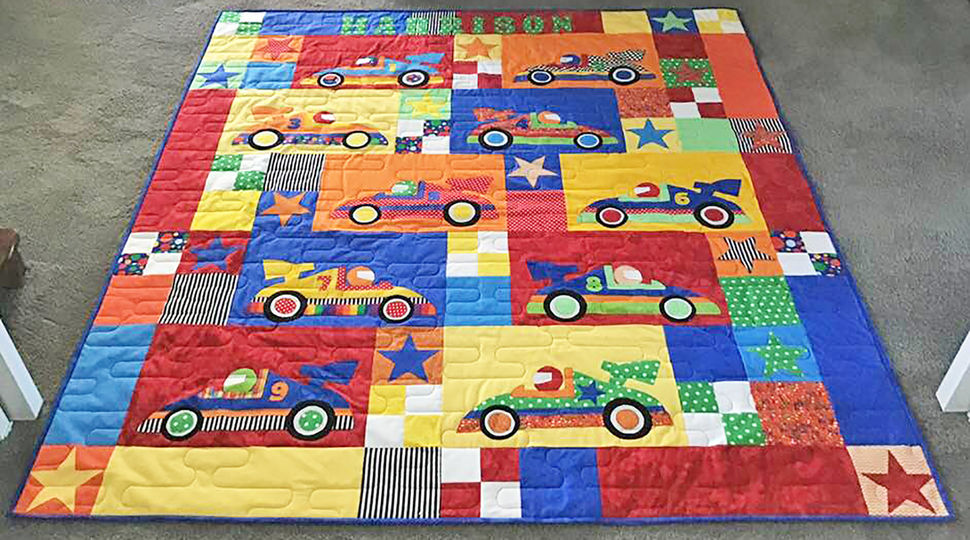 Speed Racers! - Quilt Pattern